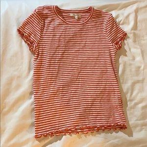NWT Madewell Striped Shirt
